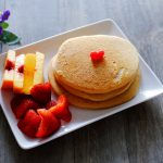 Light & Fluffy Wholemeal Pancakes