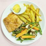 Air Fry Cajun Salmon Steak